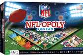 NFL Opoly Junior Jr. Board Game By Masterpieces Puzzle Company