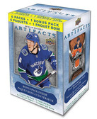2018-19 Upper Deck Artifacts NHL hockey cards 7-Pack Blaster Box