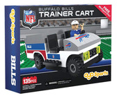 OYO NFL Buffalo Bills Buildable Trainer Cart (135-piece)