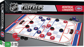 NHL Checkers board game: Montreal Canadiens