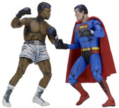 "NECA Superman vs Muhammad Ali 2-Pack 7"" Action Figures"