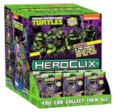 HeroClix: Teenage Mutant Ninja Turtles Set 1 Gravity Feed 24 Packs Display box