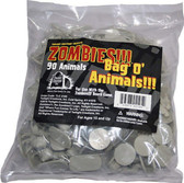 Twilight Zombies!!! Accessory Bag O' Zombie Animals!!! Game Pieces