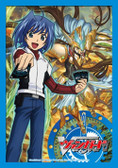 Cardfight Vanguard Sleeves: Aichi Sendou with Silver Wolf Pack of 53 Sleeves