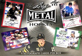 2015-16 Leaf Metal Hockey Hobby Box of Autographs
