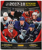 2017-18 Panini NHL Hockey Stickers Album, Canadian Edition, includes 10 Stickers