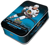 2018-19 Upper Deck Series 2 hockey cards Sealed Tin 12 Packs Plus Oversized Card