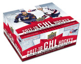 2017-18 Upper Deck CHL Hockey Cards Hobby Box
