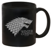 Game Of Thrones Coffee Mug, Stark - Winter Is Coming