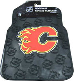 Calgary Flames NHL 2 Piece Car Floor Mat, Factory New