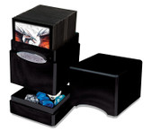 Ultra Pro Hi-Gloss Midnight Satin Tower Deck Box for 100 cards