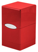 Ultra Pro Hi-Gloss Fire Satin Tower Deck Box for 100 cards