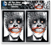 DC Comics Pack of 80 Card Game Sleeves - The Joker