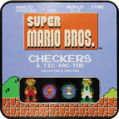 Super Mario Brothers Classic Checkers / Tic-Tac-Toe Collector's Edition Combo
