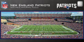 New England Patriots Gillette Stadium 1000 Piece Panoramic Puzzle