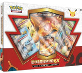 Pokemon Red and Blue Charizard EX Box Oversize Card