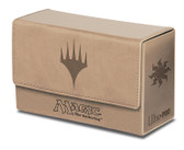 Dual Flip Deck Box White Mana for Magic The Gathering Cards Storage