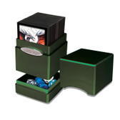 Ultra Pro Radiant Amber Moss Satin Tower Deck Box for 100 cards