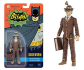 "Funko Reaction Batman 1966 TV - Bookworm 3.75"" Action Figure"