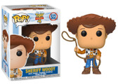 "Funko Pop! Disney Toy Story 4 Figure #522: Sheriff Woody 3.75"" Vinyl Figure"