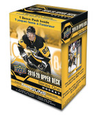 2019-20 Upper Deck Series 1 hockey cards Blaster Box