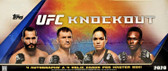 2020 Topps UFC Knockout Trading Cards Hobby Box