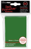Ultra Pro Matrix Green 50 Count Pack Standard Deck Protector Sleeves Pre 2018