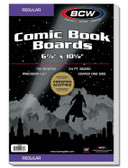 BCW 100 Count Regular Size Comic Back Boards