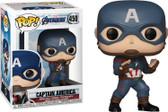 "Pop! Marvel Avengers Endgame 450 Captain America 3.75"" Vinyl Bobblehead Figure"