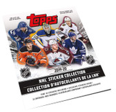 2019-20 Topps NHL Hockey Stickers Album, includes 10 Stickers