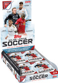 2019 Topps MLS Major League Soccer Cards Hobby Box with 24 Packs