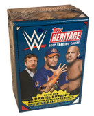 2017 Topps WWE Heritage Wrestling Trading Cards Blaster Box