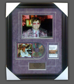 Elton John Autographed Photo in Framed Presentation limited edition