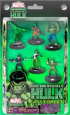 Incredible Hulk Marvel Heroclix Fast Forces Smash Pack of 6 Figures