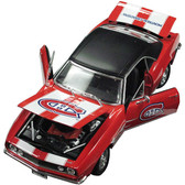 Montreal Canadiens 1967 Chevy Camaro 1:18 Scale Top Dog NHL Die Cast Model Auto
