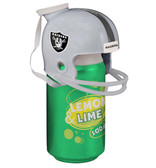 Oakland Raiders NFL Fan Can with helmet for beer or soda