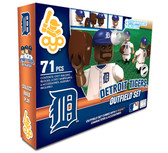 OYO Detroit Tigers MLB Outfield Set