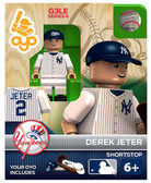 OYO MLB Minifigure: Derek Jeter, New York Yankees