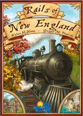 Rails Of New England Board Game, Walter H Hunt Gregory M Pozerski
