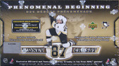 2005-06 Upper Deck Sidney Crosby Phenomenal Beginning Complete Set Plus Oversize