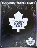 "Toronto Maple Leafs 45"" x 60"" NHL Super Plush Micro Raschel Throw Blanket"