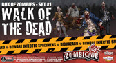 Zombicide Box Of Zombies Set #1: Walk Of The Dead miniatures game expansion