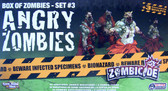 Zombicide Box Of Zombies Set #3: Angry Zombies miniatures game expansion