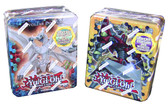 Yugioh 2012 Wave 1 Collector Tins Heroic Champion Excalibur and Evolzar Dolkka