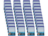 "1000 Ultra Pro 3 x 4"" Toploaders with Blue Border sports card storage protection"