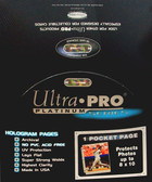 Ultra Pro 1-Pocket Pages For 8 x 10 Photo Prints, Sealed Box of 100 Pages