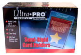 "200 Ultra Pro Semi-Rigid Sleeves with 1/2"" Lip sports cards storage protection"