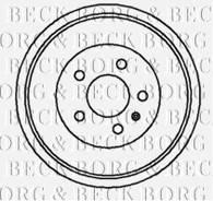 BBR7045 Brake Drum Rear Axle