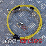 VENHILL YELLOW FRONT BRAKE HOSE 1150mm