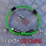 VENHILL GREEN REAR BRAKE HOSE 550mm